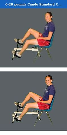 0-29 pounds Cando Standard Chair Cycle. For individuals who cannot sit safely on a stationary bike, this chair cycle is a great exercise and physicial therapy alternative.