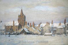 Kirkcudbright under Snow