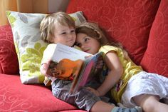 Reading with my little brother :)