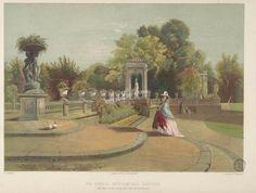 Terrace, Trentham Hall Gardens      ...