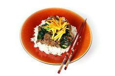 Thai Beef Stir Fry with Mango Carrot Salad by Daphne Oz & Clinton Kelly