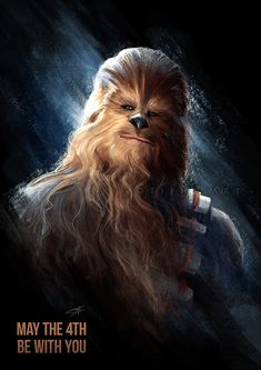 May The be with you by Tiphs on DeviantArt Star Wars Day, Star Trek, Han Solo And Chewbacca, The Best Films, Star Wars Poster, The 4, May, Science Fiction, Sketches