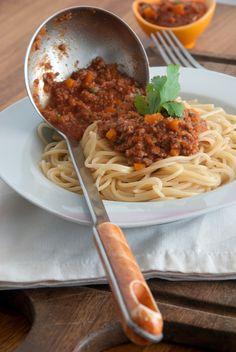 L'incontournable sauce bolognaise