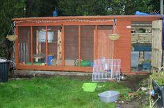 Underground Rabbit Run | Dog Kennel Set Up