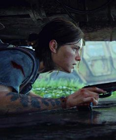 Ellie in The Last of Us Part ll (gameplay trailer) Beyond Two Souls, The Last Of Us2, Joel And Ellie, Edge Of The Universe, Last Of Us Remastered, The Evil Within, Film Serie, Video Game Art, Wild Ones