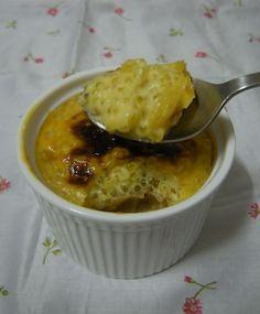 焗西米布甸 Baked Tapioca Pudding Asian Desserts, Chinese Desserts, Cream Brulee, Tapioca Pudding, Fortune Cookie, Asian Cooking, Sashimi, Custard, Panna Cotta