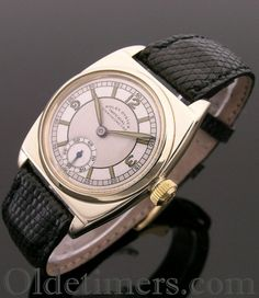 1930s 9ct gold vintage Rolex Oyster Viceroy watch - Olde Timers