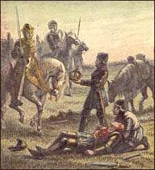 Death of Richard III at Bosworth Field