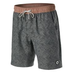 Anywhere you choose to go, the Vuori Men's Kore Short Grey Herringbone will be with you every step of the way. A supportive and soft boxer brief liner has Coolmax anti-odor technology. - Shop with Free Shipping and Free Returns at Running Warehouse! - #lululemon #tracksmith #athleta #training #workout #health #fitness #footwear #shoes #jog #walk #nike #newbalance #hoka #altra #brooks #adidas #marathon #athletic #exercise #style #fashion #outfit #clothes #gym #sneakers Running Gear, Running Shorts, Footwear Shoes, Boxer Briefs, Athletic Shorts, A Good Man, Herringbone, Elastic Waist, Style Fashion