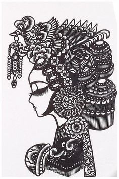 Paper Cut by Jiayang Yuan ... I think this is going to be my next craft. :)
