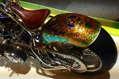 Best paint job ever? Harley Davidson Forum, Harley Davidson Motorcycles, Custom Motorcycles, Custom Paint Motorcycle, Motorcycle Art, Traditional Hot Rod, Motorcycle Photography, Custom Paint Jobs, Air Brush Painting