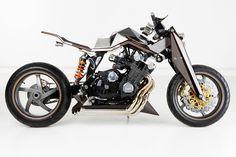 Honda CBX -  The perfect bike for a Cylon.