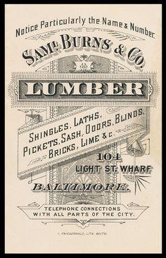Samuel Burns & Company via sheaff-ephemera.com