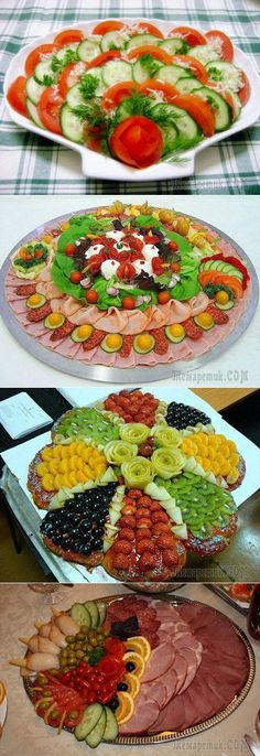 30 Ideas For Meat Platter Presentation Veggie Tray Veggie Platters, Meat Platter, Veggie Tray, Food Platters, Appetizer Recipes, Salad Recipes, Veggie Display, Food Carving, Food Garnishes
