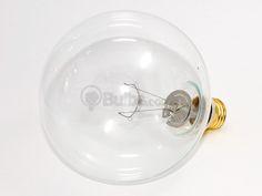 150 Watt, 125 Volt G40 Clear Long Life Globe Bulb