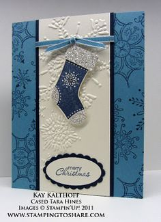 Stitched Stockings and Stocking Builder Punch card