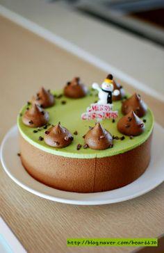 진한 초콜릿 ~크리스마스 케이크