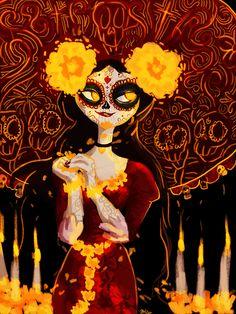 La Muerte by misswhiteheart