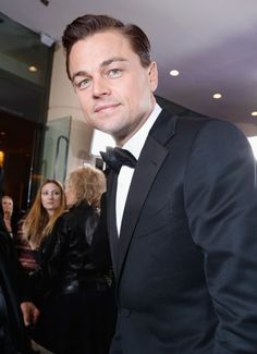 Leonardo DiCaprio. i will never not swoon when i see this man in a tux.
