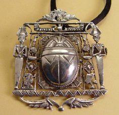 Anne Koplik Jewelry – Vintage 1920's Deco Style Padparadscha Crystal Ring with Oblong Stone Anne Koplik Jewelry – Retro & vintage inspired handmade designer artisan