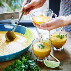 Recette de Soupe froide carotte – coco par Annelyse