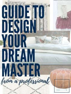 A Guide on How to Design your Dream Master Bedroom - This Lost Mama #interiordesign #designguide #masterbedroom #decor #homedecor #homedesign #designtips #interiordesigner #bedroomdecor #interiordesigntips #home #decor #bedroom #rug #contemporary #modern #farmhouse