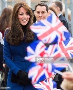 Prince William, Duke of Cambridge and Catherine, Duchess of Cambridge visits Discovery Point on October 23, 2015 in Dundee, Scotland.