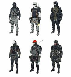 New Yorkers (book 3) Metal Gear Online, Metal Gear Solid, Airsoft Gear, Tactical Gear, Armor Concept, Concept Art, Character Concept, Character Art, Swat
