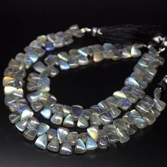 8.5 inches Semiprecious Stone Beads Multi Color Beads Gemstone Beads 14mm to 24mm Multi Sapphire Smooth Tumble Beads