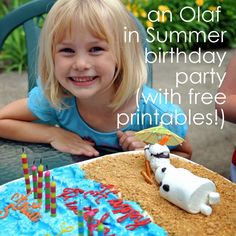 Catholic All Year: An Olaf in Summer Frozen Birthday Party, or THIS is what sacrificial love looks like