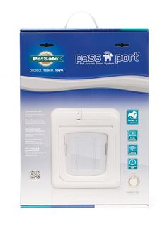 PetSafe Passport Selective Entry and Selective Exit Pet Door, White, Small  >>> Want additional info? Click on the image.
