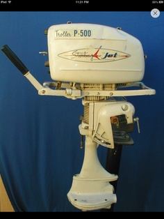 Outboard on pinterest motors mercury and vintage boats for Mercury outboard jet motors for sale