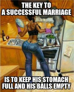 The key to a successful marriage