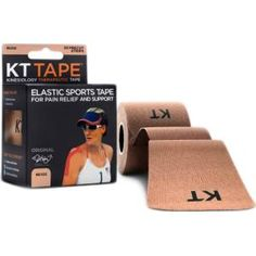 KT Tape Cotton Precut Beige
