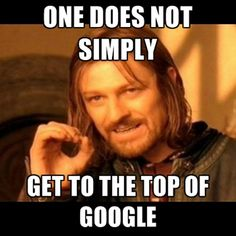 #SEO takes work!