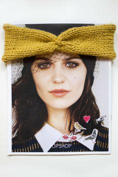 Pletená čelenka Winter Hats, Crochet Hats, Fashion, Knitting Hats, Moda, Fashion Styles, Fashion Illustrations