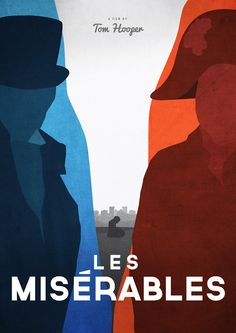 Minimalist Movie Poster: Les Misérables by Dean Walton