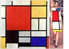 Pieter Cornelis Mondrian, mais conhecido por Piet Mondrian, foi um pintor holandês modernista que apostava na simplificação da obra. Criou o movimento artístico neoplasticismo, colaborou com a revista De Stijl e com as formas da pintura concreta. No lugar dos detalhes realistas, o artista se tornou famoso por suas composições de linhas retas na cor preta e as cores primárias, azul, vermelho e amarelo.