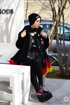 tokoy punk girl fashion