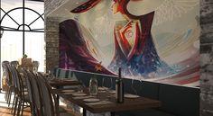 Bonfire Restaurant, Painting, Art, Art Background, Painting Art, Kunst, Paintings, Performing Arts, Painted Canvas