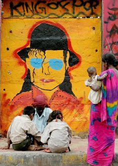 Michael Jackson - location: unkown, artist: unknown