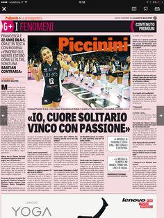 11 dicembre 2014 - Intervista a Francesca Piccinini