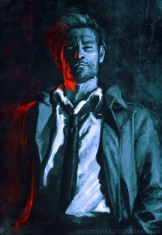 Matt Ryan as John Constantine -   https://decoysnake.deviantart.com/