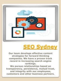 Browse this site http://www.bigwigbiz.com/records.php?opt=search&id=41792 for more information on SEO agency Sydney. Search engine optimization is necessary for businesses to compete with one another online. While hiring the services of a good SEO agency Sydney can get you good marketing copy for your website and an effective use of the related keywords, having a brilliantly designed website will help a lot when it comes to attracting people and even the search e...