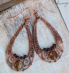 artisan wire wrapped jewelry | visit artfire com