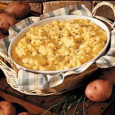Cheese Potato Puff...sounds so good