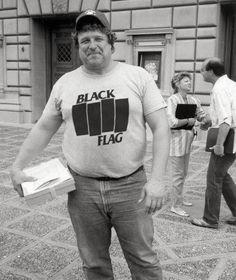 Goodman reppin' Black Flag