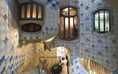Casa Batlló - Antoni Gaudí - Galerias