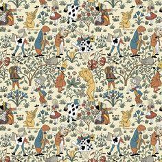Alice in Wonderland pattern atTrustworth Studios