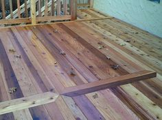 Cool Cedar Deck Design